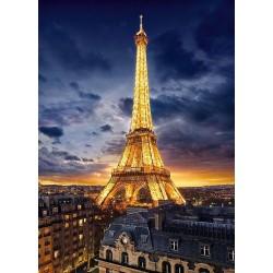 Puzzle Eiffel-torony megvilágításban