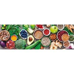 Puzzle Egészséges étel - PANORAMATIKUS PUZZLE