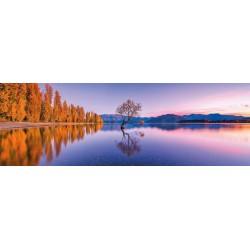 Puzzle Wanaka-tó - PANORAMATIKUS PUZZLE