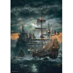Puzzle Kalóz vitorláshajó