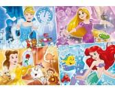 Puzzle Négy hercegnő - GYEREK PUZZLE