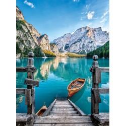 Puzzle Braies tó