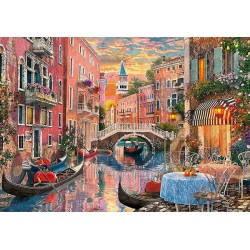 Puzzle Romantika Velencében