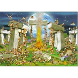 Puzzle Stonehenge építmény