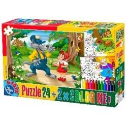 Puzzle Piroska - GYEREK PUZZLE