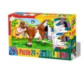 Puzzle Tehén - GYEREK PUZZLE