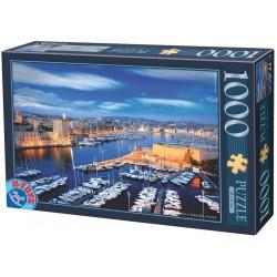 Puzzle Kikötő Marseulleben