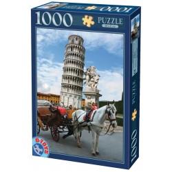 Puzzle A Pisai ferde torony