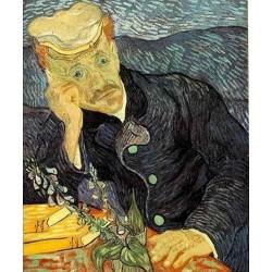 Puzzle Doktor Gachet portréja