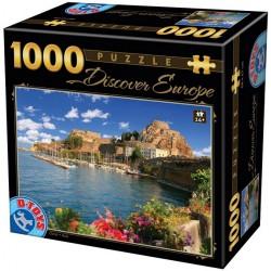 Puzzle Comói-tó, Olaszország