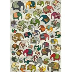 Puzzle Elefántok