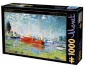 Puzzle Piros hajók