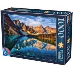 Puzzle Moraine-tó, Kanada