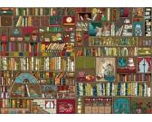 Puzzle Polc könyvekkel