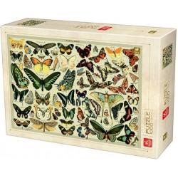 Puzzle Enciklopédia - pillangók