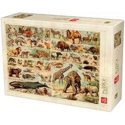 Puzzle Állatok enciklopédiája