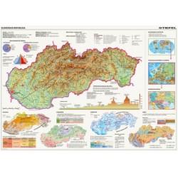 Puzzle - Térkép - Szlovákia