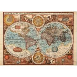 Puzzle Világ térkép 1626