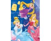 Puzzle Királykisasszonyok - ünneplés - VILÁGITÓ PUZZLE