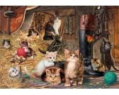 Puzzle Cica-világ
