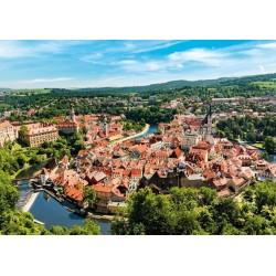 Puzzle Cesky Krumlov - Csehország