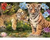 Puzzle Tigris kölykök