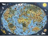 Puzzle Rajzfilm térkép
