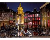 Puzzle Amszterdami éjszaka - VILÁGÍTÓ PUZZLE