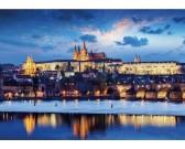 Puzzle Prágai vár - VILÁGÍTÓ PUZZLE
