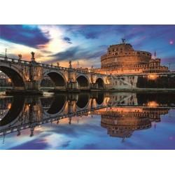 Puzzle Andok vár, Róma - VILÁGÍTÓ PUZZLE