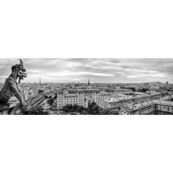 Puzzle Tűzhányó Párizsban - PANORAMATIKUS PUZZLE
