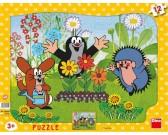 Puzzle Kisvakond kertészkedik - GYEREK PUZZLE