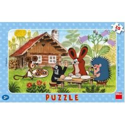 Puzzle Kisvakond látogatóban - GYEREK PUZZLE