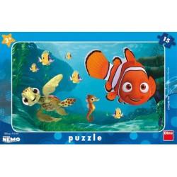 Puzzle Némó és a teknősbéka - GYEREK PUZZLE