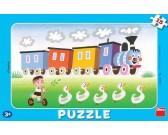 Puzzle Vidám mozdony - GYEREK PUZZLE