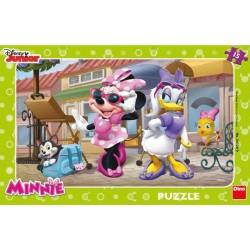 Puzzle Minnie egér a Monmartron - GYEREK PUZZLE
