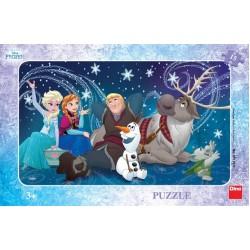 Puzzle Jégvarázs - hópehely - GYEREK PUZZLE