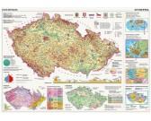 Puzzle Csehországi térkép