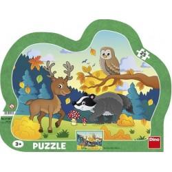 Puzzle Erdei állatok - GYEREK PUZZLE