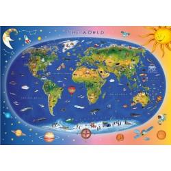 Puzzle Gyermektérkép - GYEREK PUZZLE