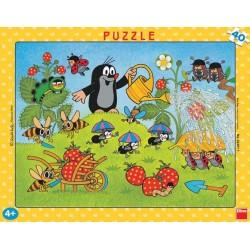 Puzzle Kisvakond az eperben - GYEREK PUZZLE