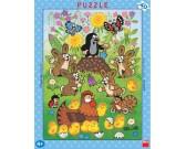 Puzzle Kisvakond és a húsvét - GYEREK PUZZLE