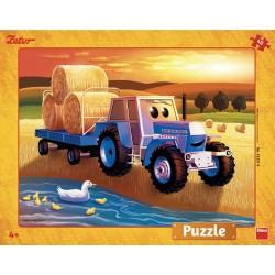 Puzzle Zetor: Szüret - GYEREK PUZZLE