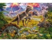 Puzzle Dinuszauruszok világa