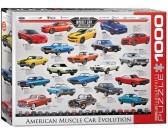 Puzzle Amerikai autók