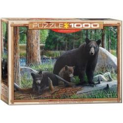 Puzzle Medve család