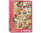 Puzzle Festett rózsák