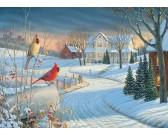 Puzzle Madarak télen