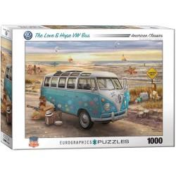 Puzzle Volkswagen busz