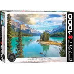 Puzzle Maligne-tó